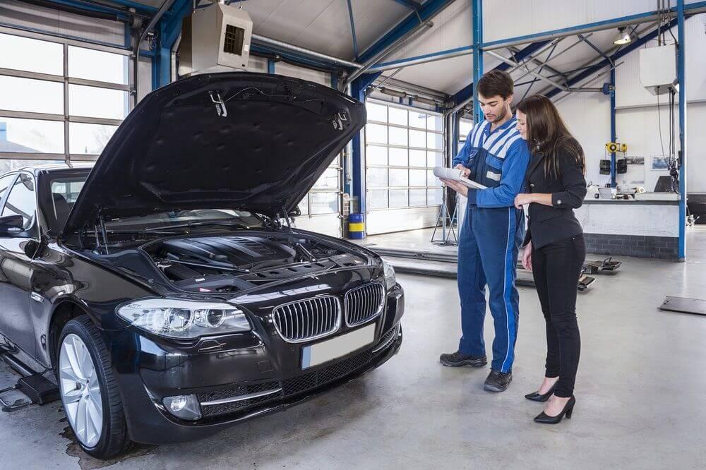 bảo dưỡng xe BMW ở đâu