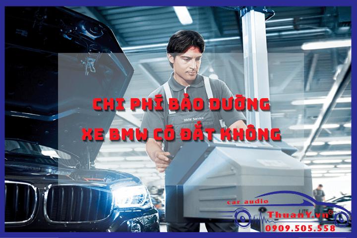 chi phí bảo dưỡng xe BMW
