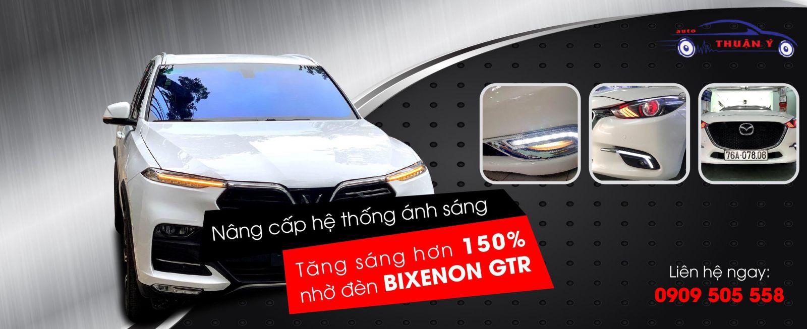 Độ đèn Bixeon giúp cải thiện đèn sáng của ô tô