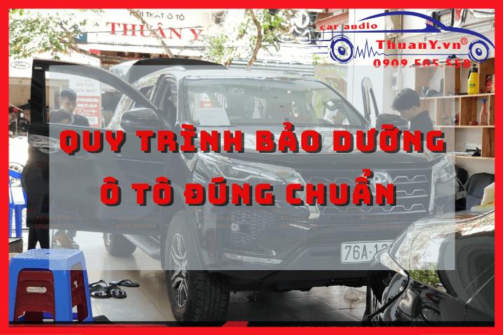 quy trình bảo dưỡng ô tô